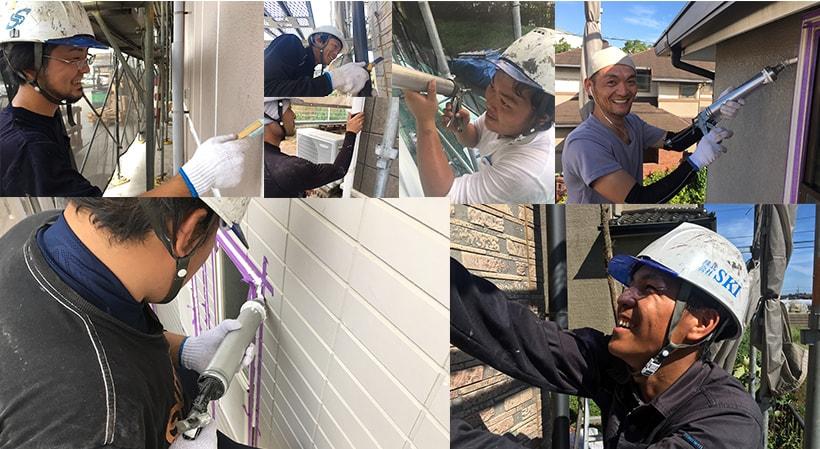 すみずみまで診断!外壁のプロである 外壁診断士が在籍!八街市の顔が見える外壁屋根塗装店